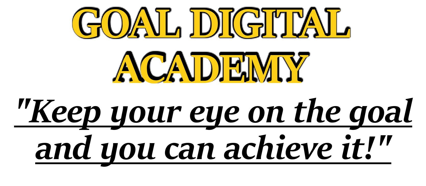 GOAL Digital Academy Helpdesk